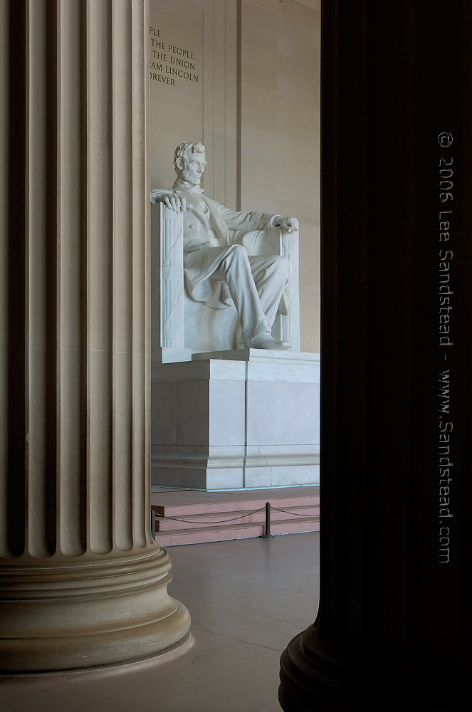 Lincoln Memorial Photography Lee Sandstead